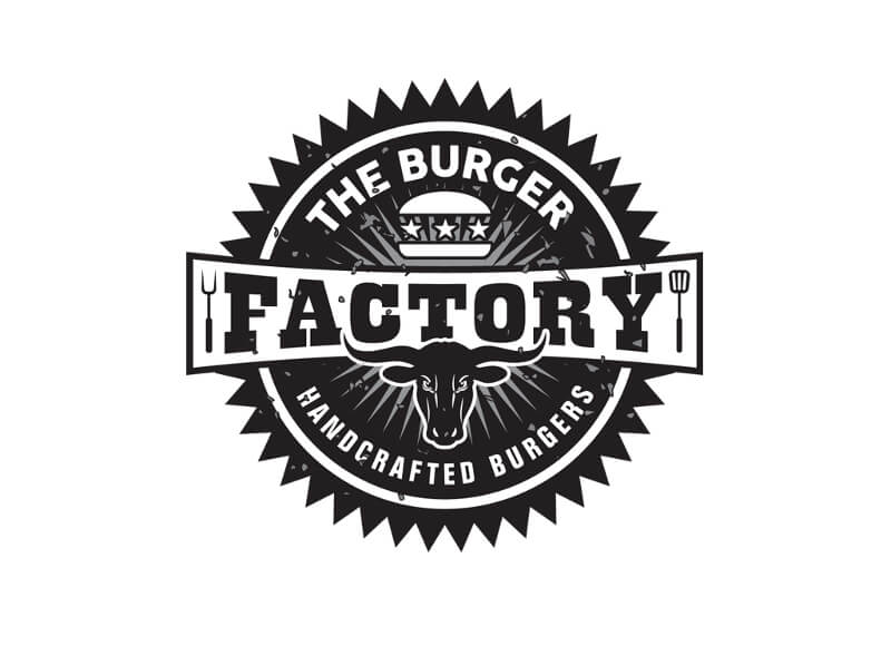 Foodtruck Fast Food Logos The Burger Factory 176785