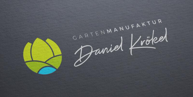 Gartenmanufaktur Logo Daniel Krökl
