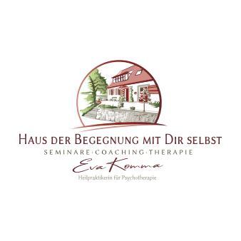Gezeichnetes Logo rot Haus der Begegnung