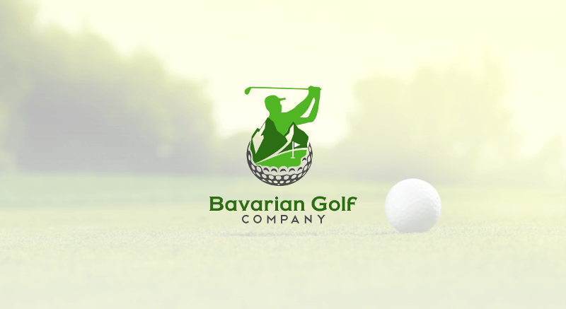 Golf Logo Bavarian Golf Company 287211