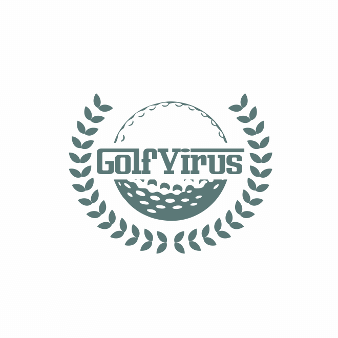 Golf Virus Logo Design Golf 889767