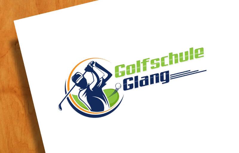 Golfschule Glang 693796 Golf Logo