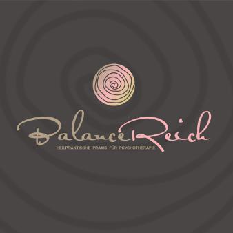 Heilpraktiker Logo Balance Reich