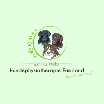 Hundephysiotherapie Logo Jannika Webs Friesland