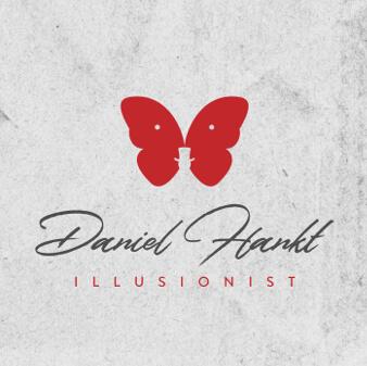 Künstler Logo Illusionist Daniel Hankt