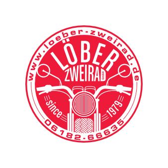 LÖBER ZWEIRAD rotes Logo