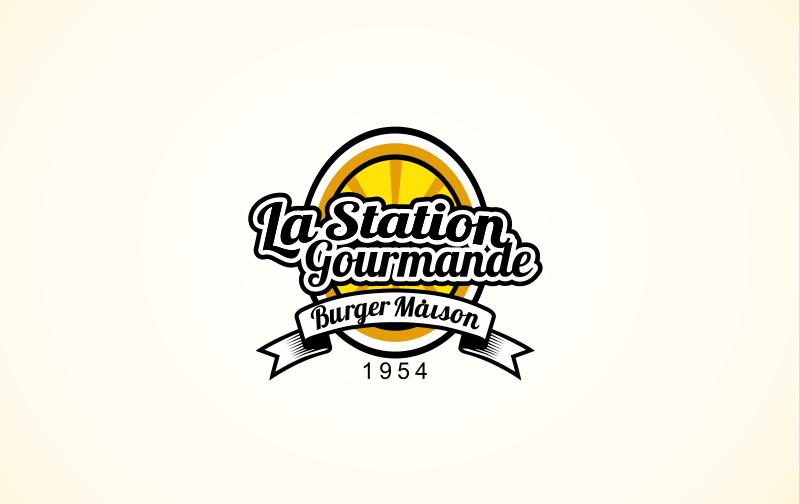 La Station Gourmande Fast Food Logos Streetfood 836575