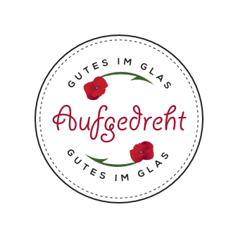 Logo rot aufgedreht vegane Fertigprodukte