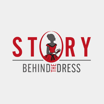 Logo roter Farbakzenz Story behind the Dress