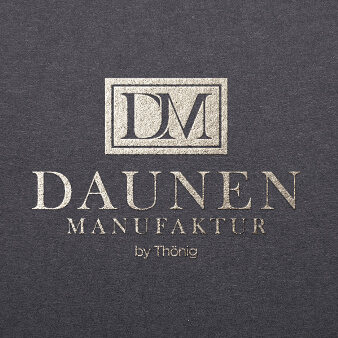 Manufaktur Logo Design Daunen Manufaktur