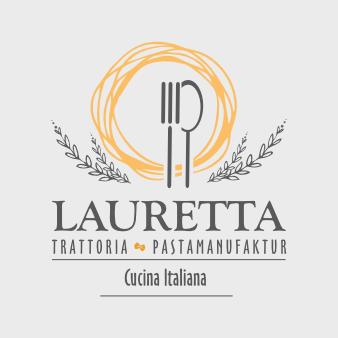 Manufaktur Logo Design Lauretta Pastamanufaktur