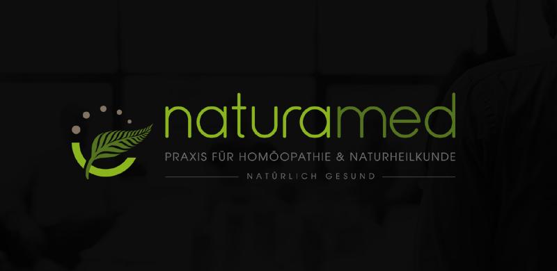Naturamed Praxis Homöopathie Naturheilkunde Logo
