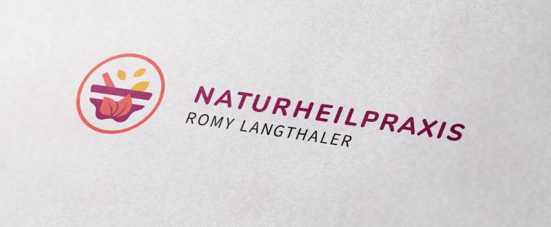 Naturheilpraxis Heilpraktiker Logo Romy Langthaler