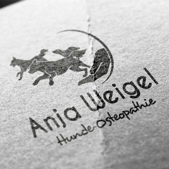 Osteopathe Logo Praxis Hunde Anja Weigel
