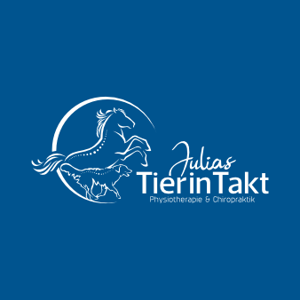 Physiotherapie Logo Design Julias TierInTakt
