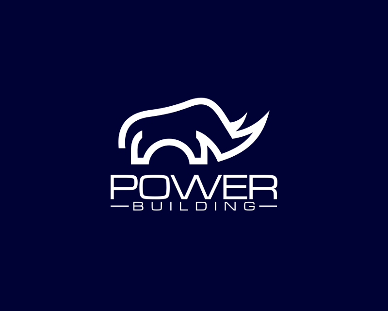 Power Building Logo Design Negativ 598428