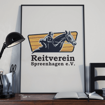 Reitverein Spreenhagen Reitsport Logo Design 234443