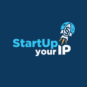 StartYour IP Kreative Bildmarke Blaues Logo 241388
