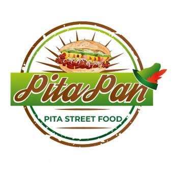 Streetfood-Logo für Pita Pan