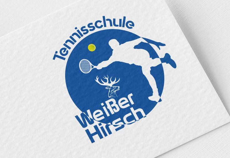 Tennisschule Weißer Hirsch Logo Tennis 869527