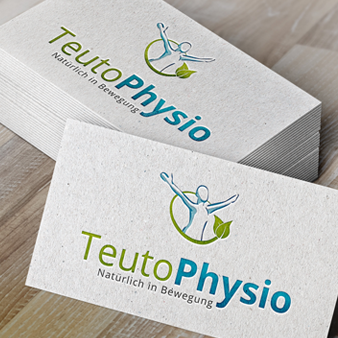 Teuto Physio Therapie Logo Design