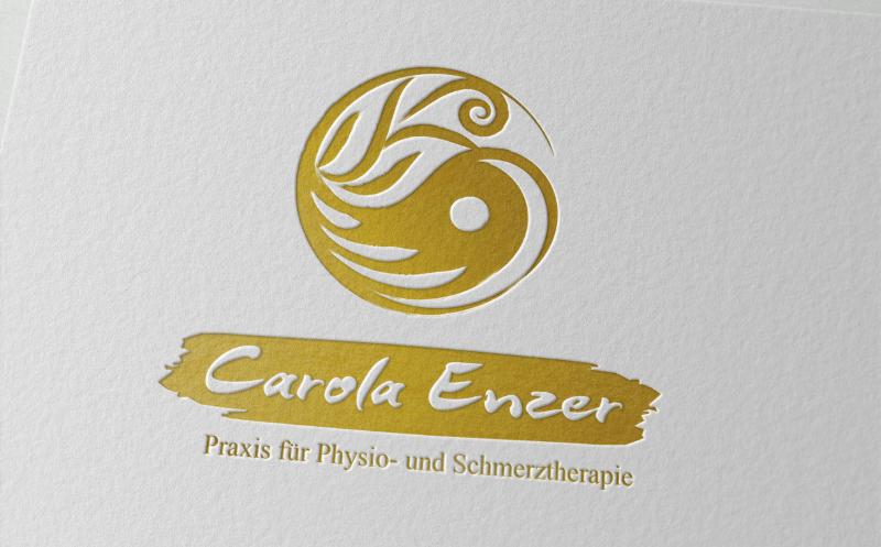 Therapie Logo Design Carola Enzner Physio Schmerztherapie