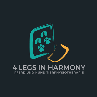 Tier Physiotherapie Logo Design 4 Legs in Harmony