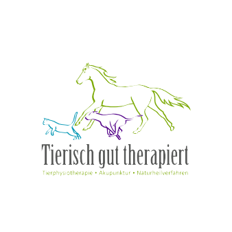 Tier Physiotherapie Logo Tierisch gut therapiert