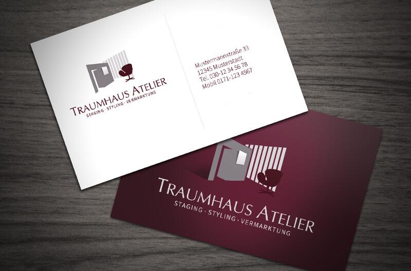 Traumhaus Atelier Logo Design