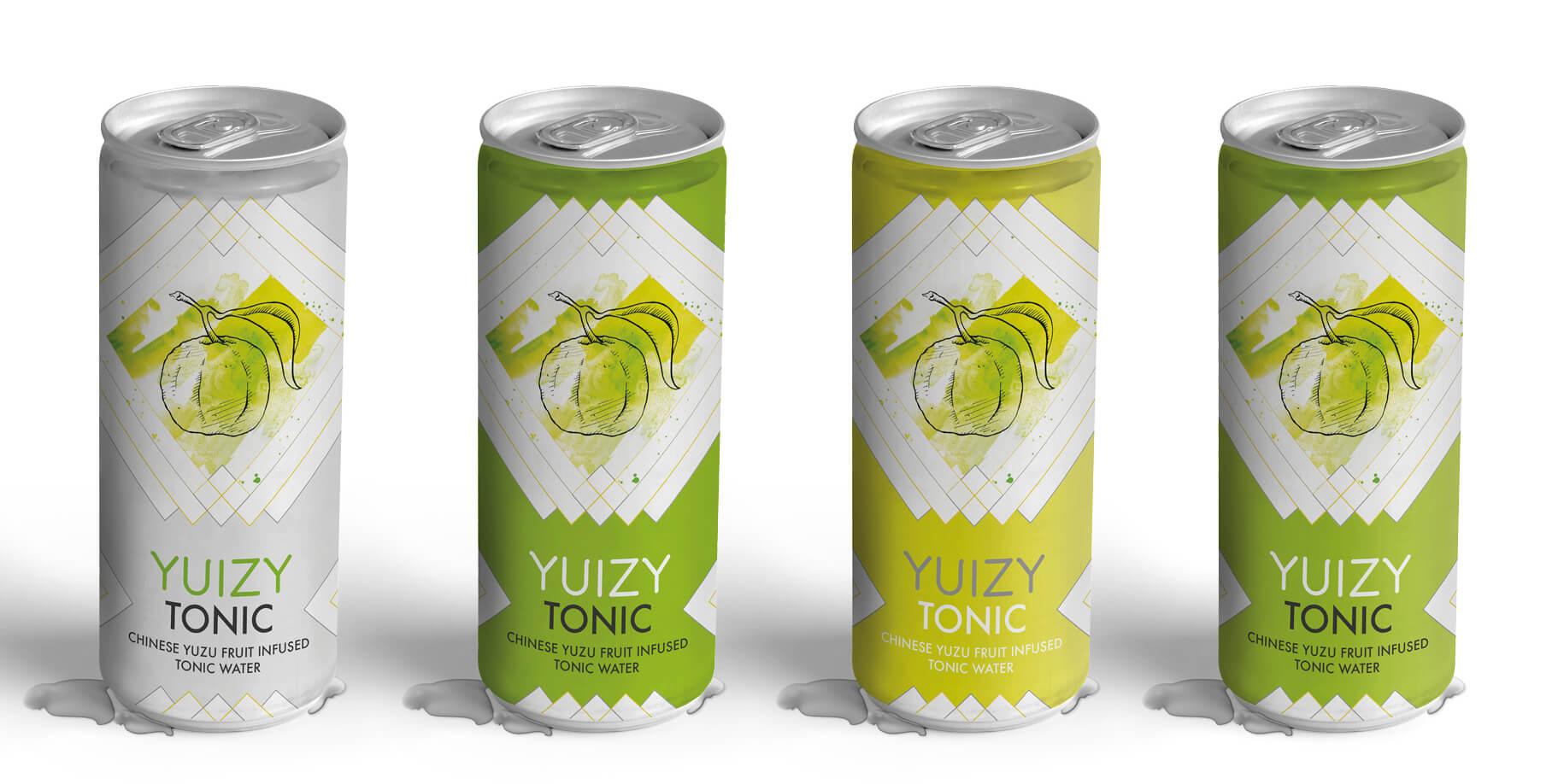 Verpackungsdesign Dose Gin Tonic