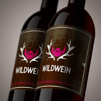 Verpackungsdesign Wein Weinetikett Design Wildwein