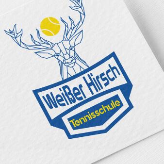 Weißer Hirsch Tennisschule Tennis Logo 869527