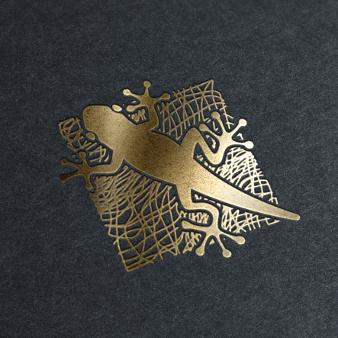 atelier logo holz salamander