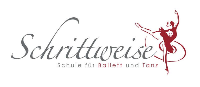 ballett logo schrittweise ballettschule