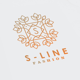 elegantes gold logo s-line fashion