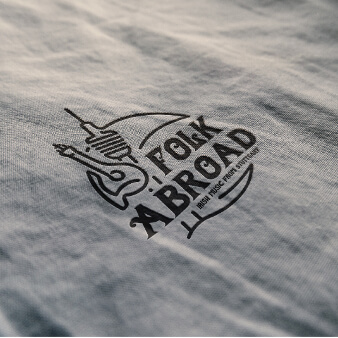 folk dance logo folk abroad music