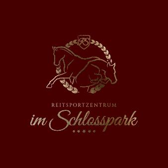 gold Logo Reitsportzentrum im Schlosspark