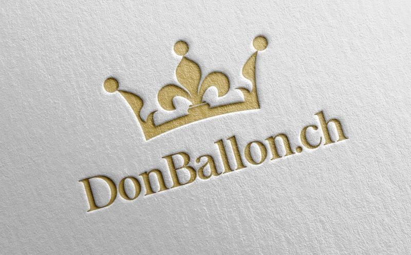 gold logo crown krone donballon.ch