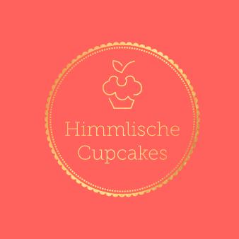 gold logo himmlische cupcakes