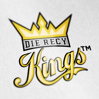 golden illustrated logo recy kings
