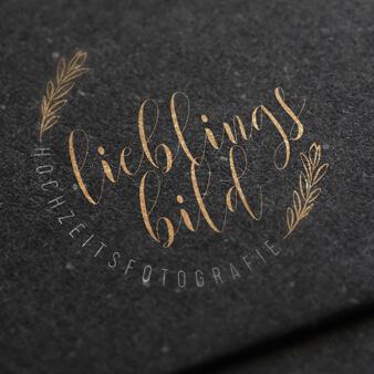 goldenes logo zart lieblingsbild