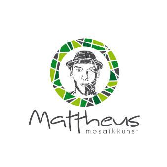 kunst logo design mattheus mosaikkunst