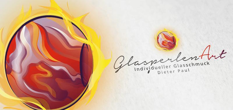 kunst logo glasperlenart glasschmuck