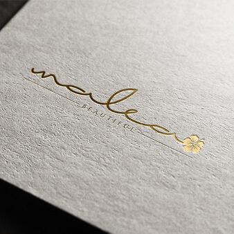 logo gold malea
