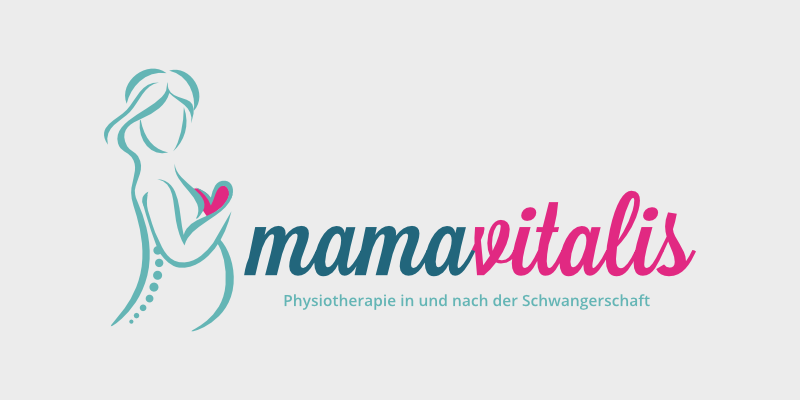 Physiotherapie Logo Mama und Kind Mamavitalis