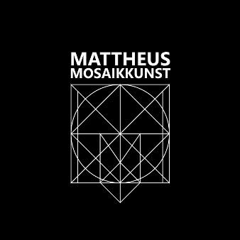 mattheus mosaikkunst künstler logo design