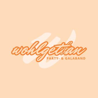 partyband tanz logo design wohlgethan