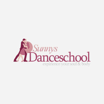 tanzschule logo sunnys danceschool design