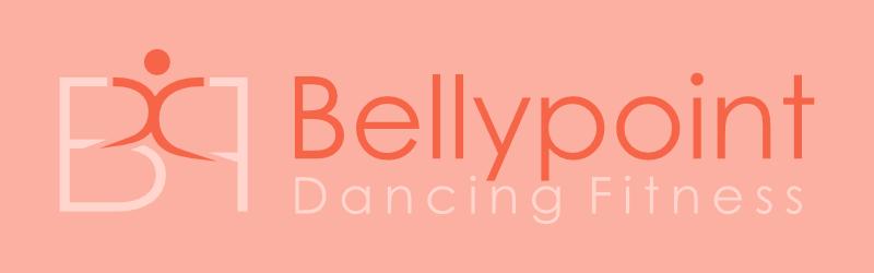 zumba dancing logo bellypoint dancing fitness