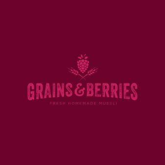 Öko Logo Müsli Grains & Berries